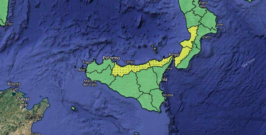 Previsioni Meteo Sicilia: dopo la pioggia, il weekend di Ognissanti sarà protetto dall'anticiclone africano.